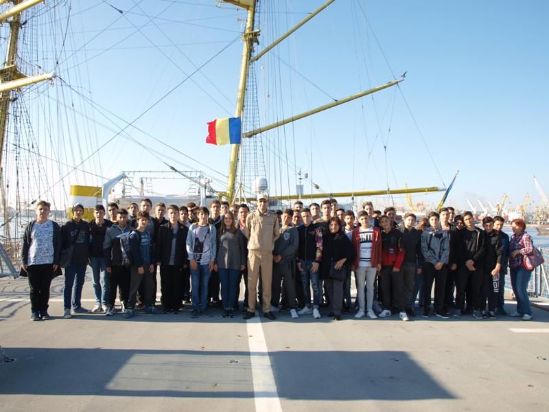 Vizită în portul Militar Constanța